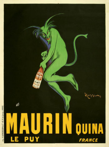 Maurin Quina | Leonetto Cappiello | oil painting