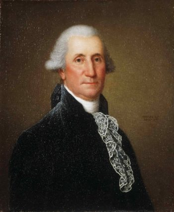 Portrait of George Washington | Adolph Ulrich Wertmuller | oil painting