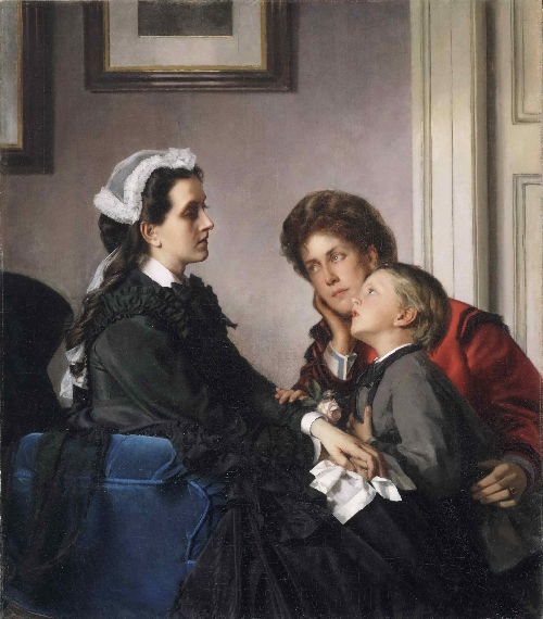 The Governess | Alexandre Cabanel | oil painting