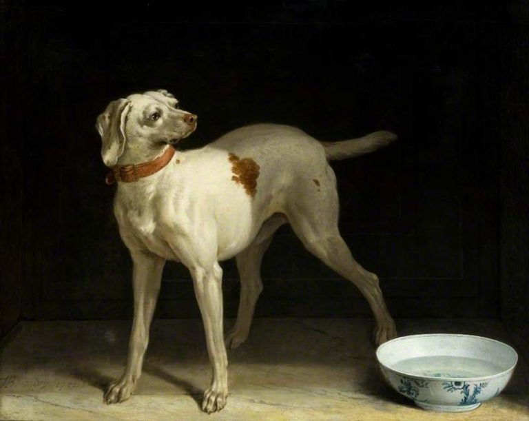 The Dog | Jean Baptiste Oudry | oil painting