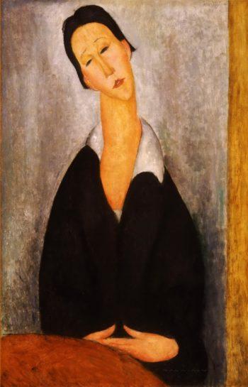 Portrait of a Polish Woman | Amedeo Modigliani | oil painting