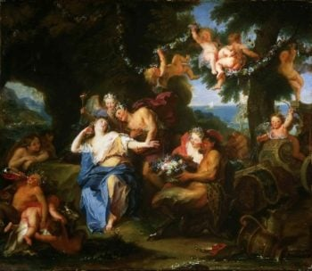 Bacchus and Ariadne on the Isle of Naxos | Antoine Coypel | oil painting
