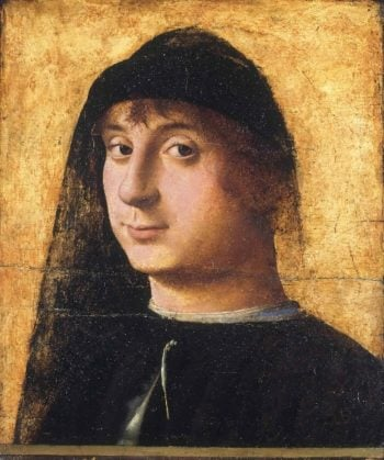 Portrait of a Young Gentleman | Antonello da Messina | oil painting