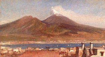 Vesuvius | Elihu Vedder | oil painting