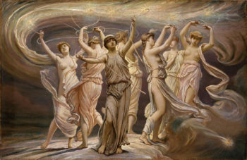 The Pleiades | Elihu Vedder | oil painting