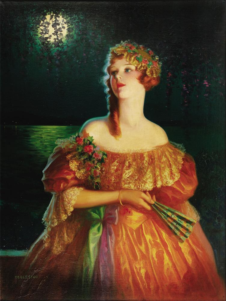 The Sweetheart Of Sigma Chi | Edward Mason Eggleston | oil painting