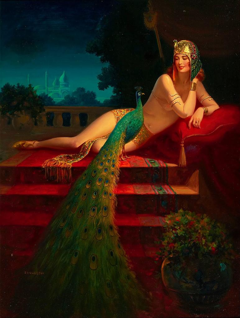 Cleopatra | Edward Mason Eggleston | oil painting