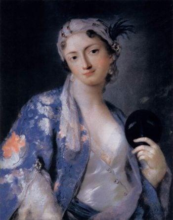 Portrait of Felicita Sartori | Rosalba Carriera | oil painting