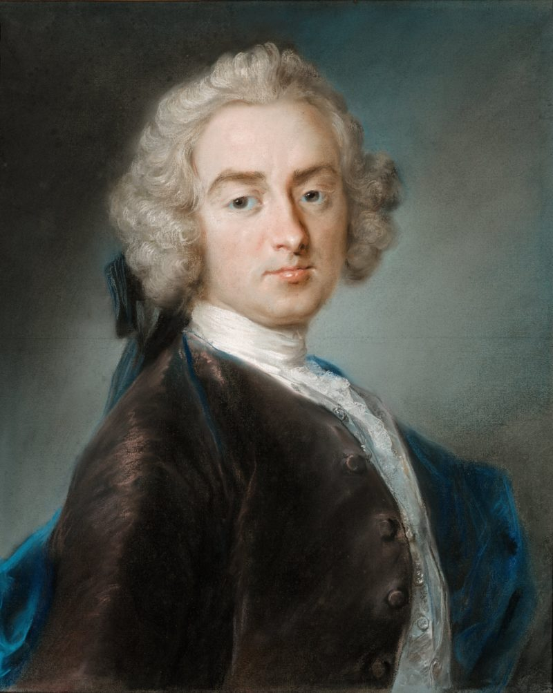 Sir James Gray Second Baronet | Rosalba Carriera | oil painting
