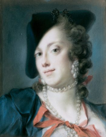 A Venetian Lady from the House of Barbarigo | Rosalba Carriera | oil painting