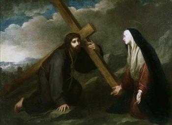 Christ Bearing the Cross | Bartolome Esteban Murillo | oil painting