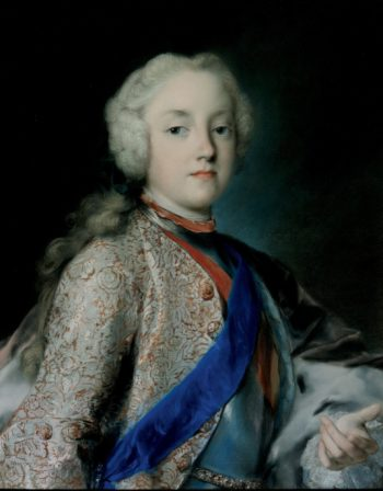 Crown Prince Friedrich Christian of Saxony | Rosalba Carriera | oil painting
