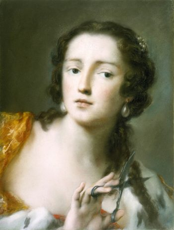 Caterina Sagredo Barbarigo as Berenice | Rosalba Carriera | oil painting