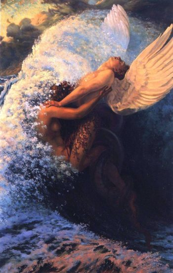Spleen and Ideal | Carlos Schwabe | oil painting