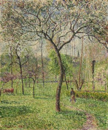Landscape (Orchard)   Camille Pissarro   oil painting