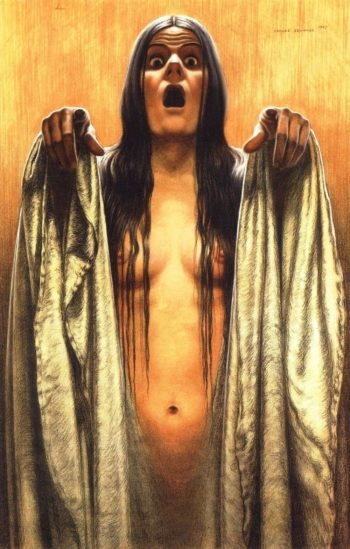 The Wave 4 | Carlos Schwabe | oil painting