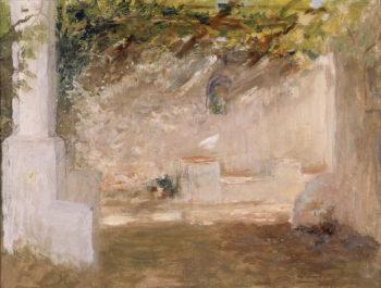 The Arbor | Ignacio Pinazo Camarlench | oil painting