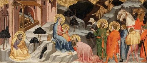 Adoration of the Magi | Cenni di Francesco | oil painting
