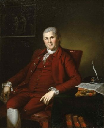 Portrait of John B. Bayard | Charles Willson Peale | oil painting