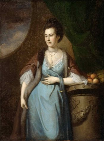 Portrait of Martha Cadwalader Dagworthy | Charles Willson Peale | oil painting