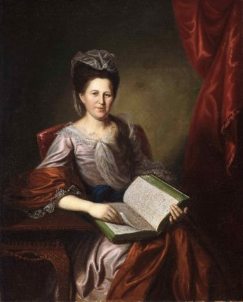Portrait of Mrs. John B. Bayard | Charles Willson Peale | oil painting