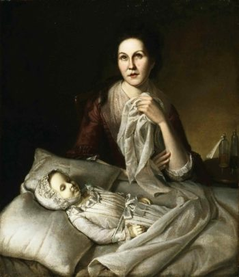 Rachel Weeping | Charles Willson Peale | oil painting