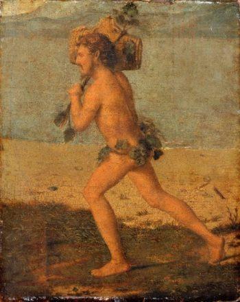 Bacchant | Cima da Conegliano (Giovanni Battista Cima) | oil painting