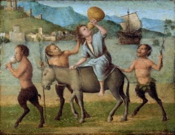 Silenus and Satyrs | Cima da Conegliano (Giovanni Battista Cima) | oil painting