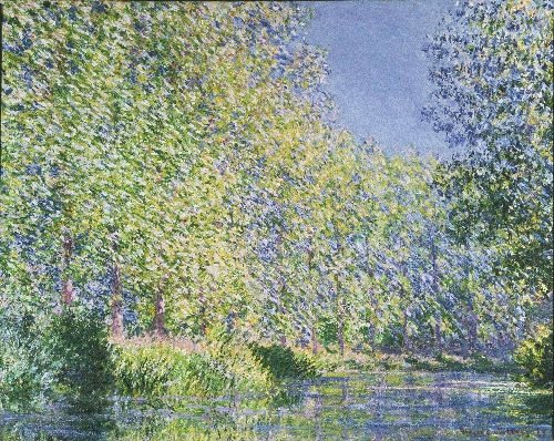 Bend in the Epte River near Giverny | Claude Monet | oil painting