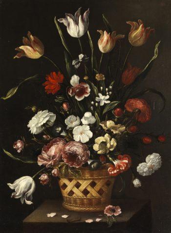 Still Life   Pedro de Camprobin   oil painting