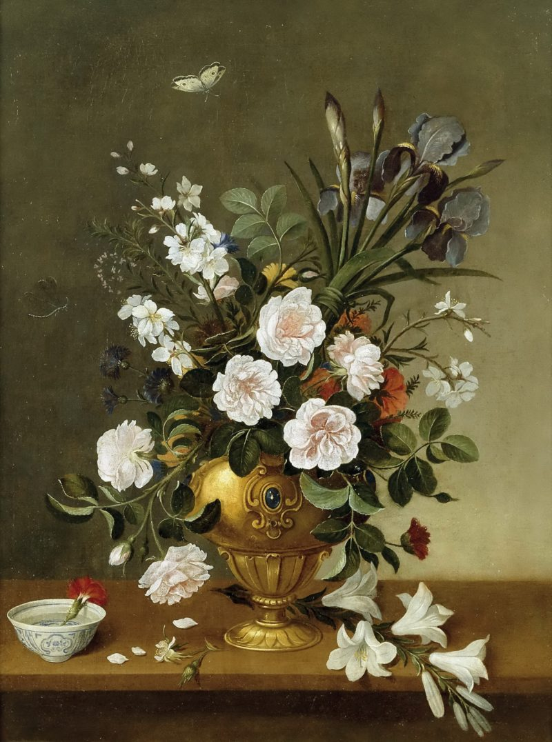 Vase of Flowers | Pedro de Camprobin | oil painting
