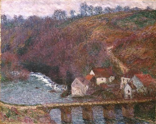 The Grande Creuse at Pont de Verry | Claude Monet | oil painting