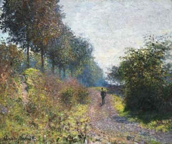 The Sheltered Path | Claude Monet | oil painting