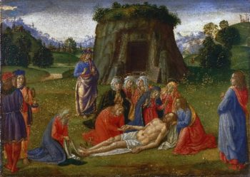 Lamentation | Cosimo Rosselli | oil painting