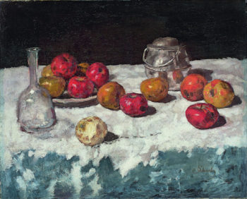 Still Life with Apples | Carl Eduard Schuch | oil painting