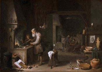 The Alchemist | David Teniers II | oil painting