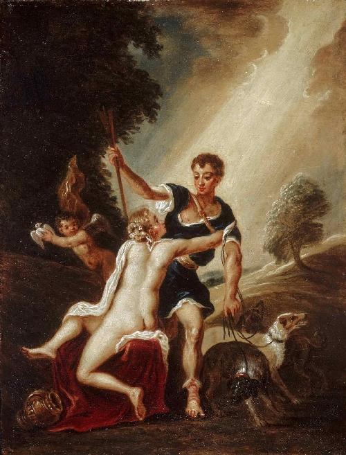 Venus and Adonis | David Teniers II | oil painting