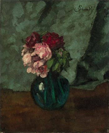 Roses | Carl Eduard Schuch | oil painting