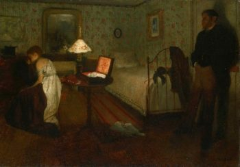 Interior | Edgar Degas | oil painting