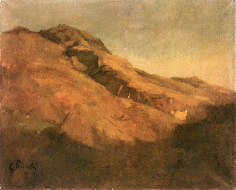 Ridge | Carl Eduard Schuch | oil painting