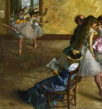 The Ballet Class | Edgar Degas | oil painting