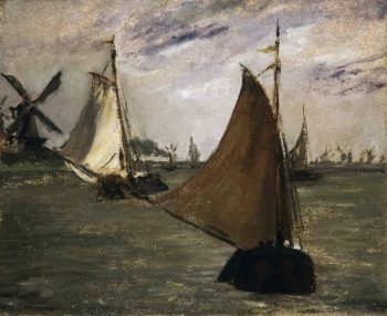 Marine in Holland | Edouard Manet | oil painting
