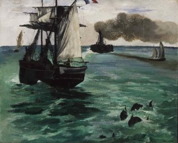 Marine View | Edouard Manet | oil painting