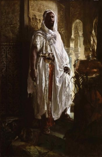The Moorish Chief | Eduard Charlemont | oil painting