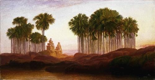 Mahabalipooram   Edward Lear   oil painting