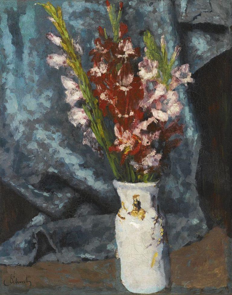 Gladioli | Carl Eduard Schuch | oil painting