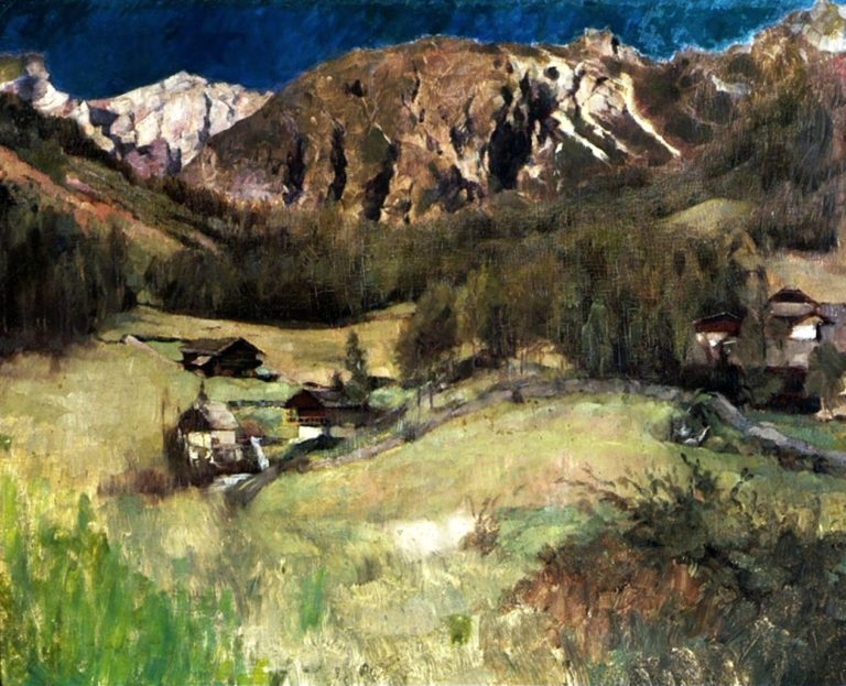 Landscape from Tyrol | Carl Eduard Schuch | oil painting