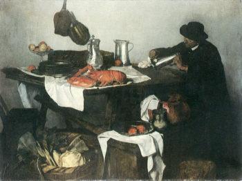 Matteostilleben | Carl Eduard Schuch | oil painting