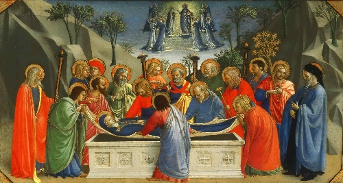The Dormition of the Virgin | Fra Angelico Guido di Pietro | oil painting