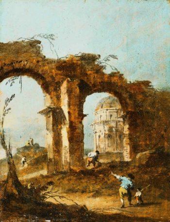 Capriccio | Francesco Guardi | oil painting